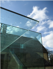 Glass Cube - Cantilever Glass Canopy