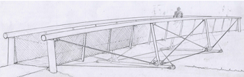 Artists impression of bridge